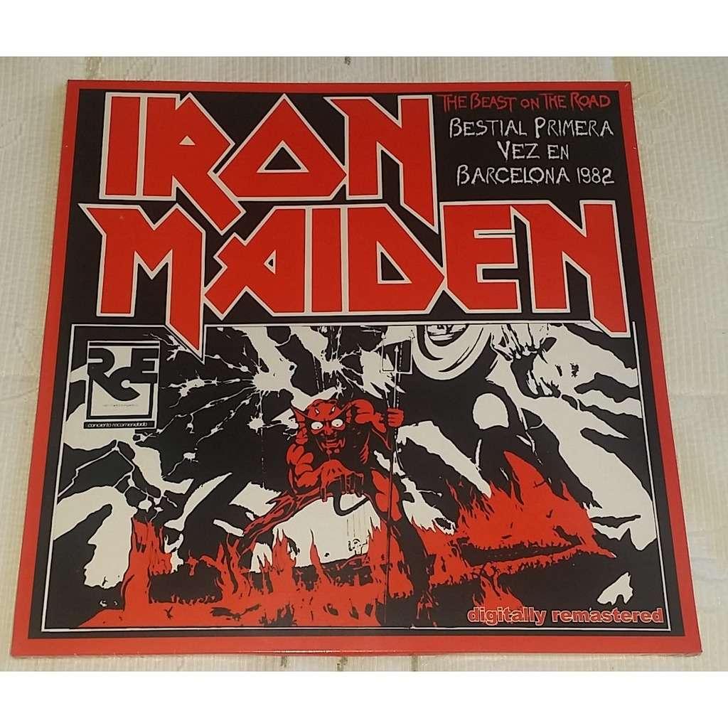 iron maiden Bestial Primera Vez En Barcelona 1982