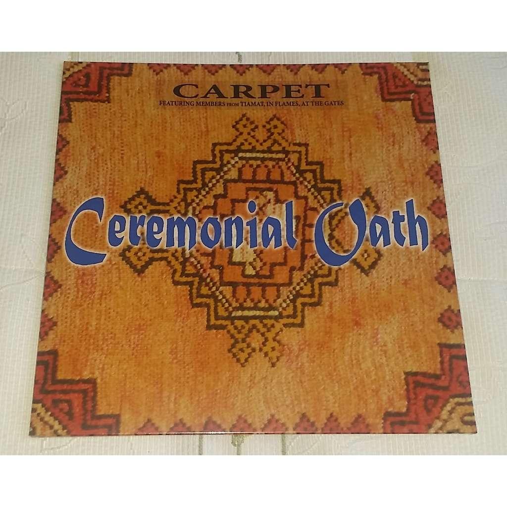 ceremonial oath Carpet