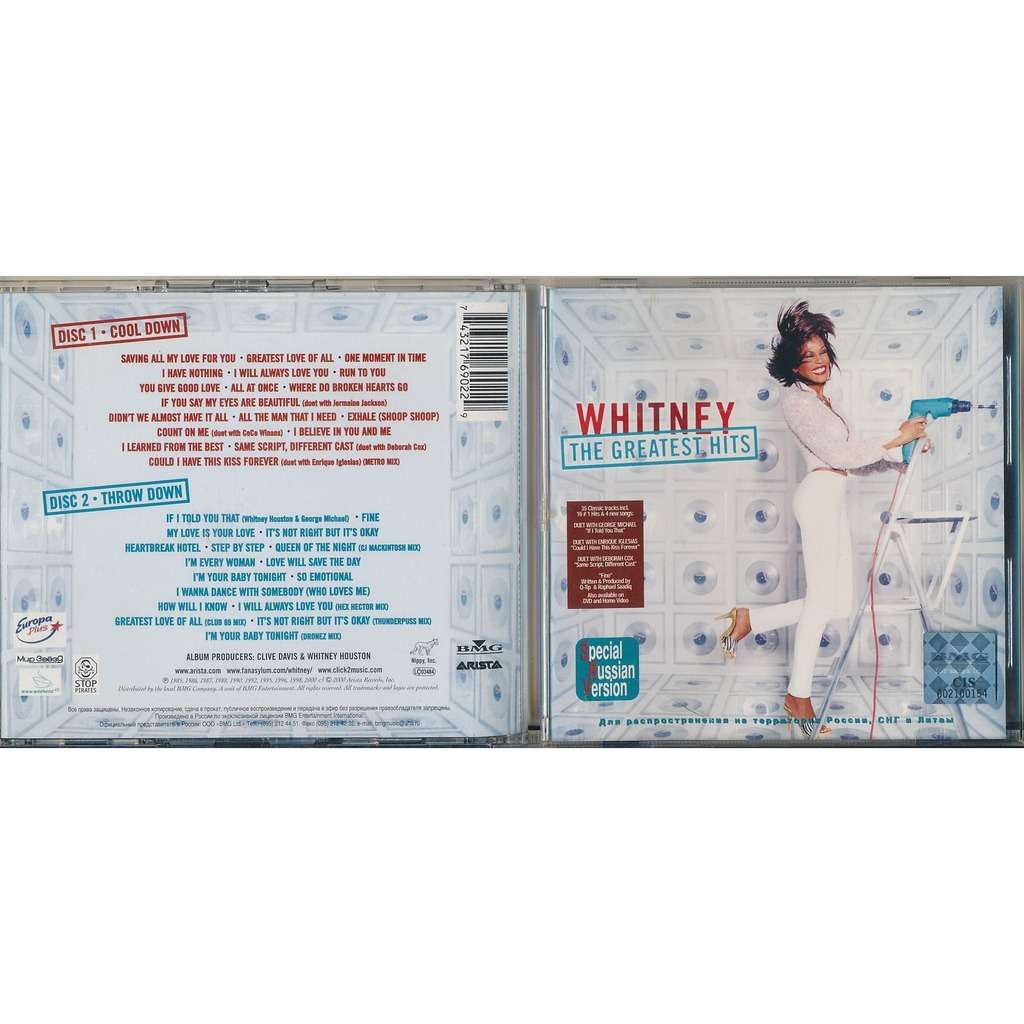 Whitney Houston The Greatest Hits