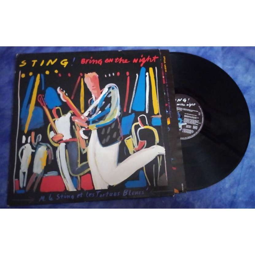 STING Double LP Bring on the night
