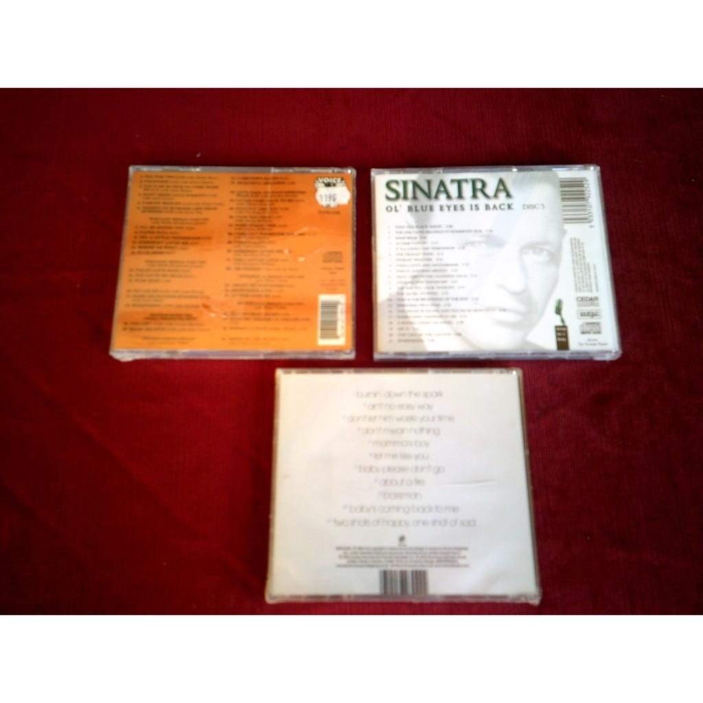 FRANK SINATRA COLLECTION DE 3 CD ALBUM