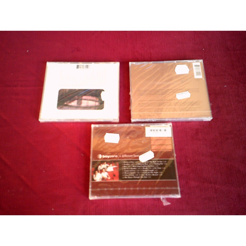 BOYZONE COLLECTION DE 3 ALBUM CD
