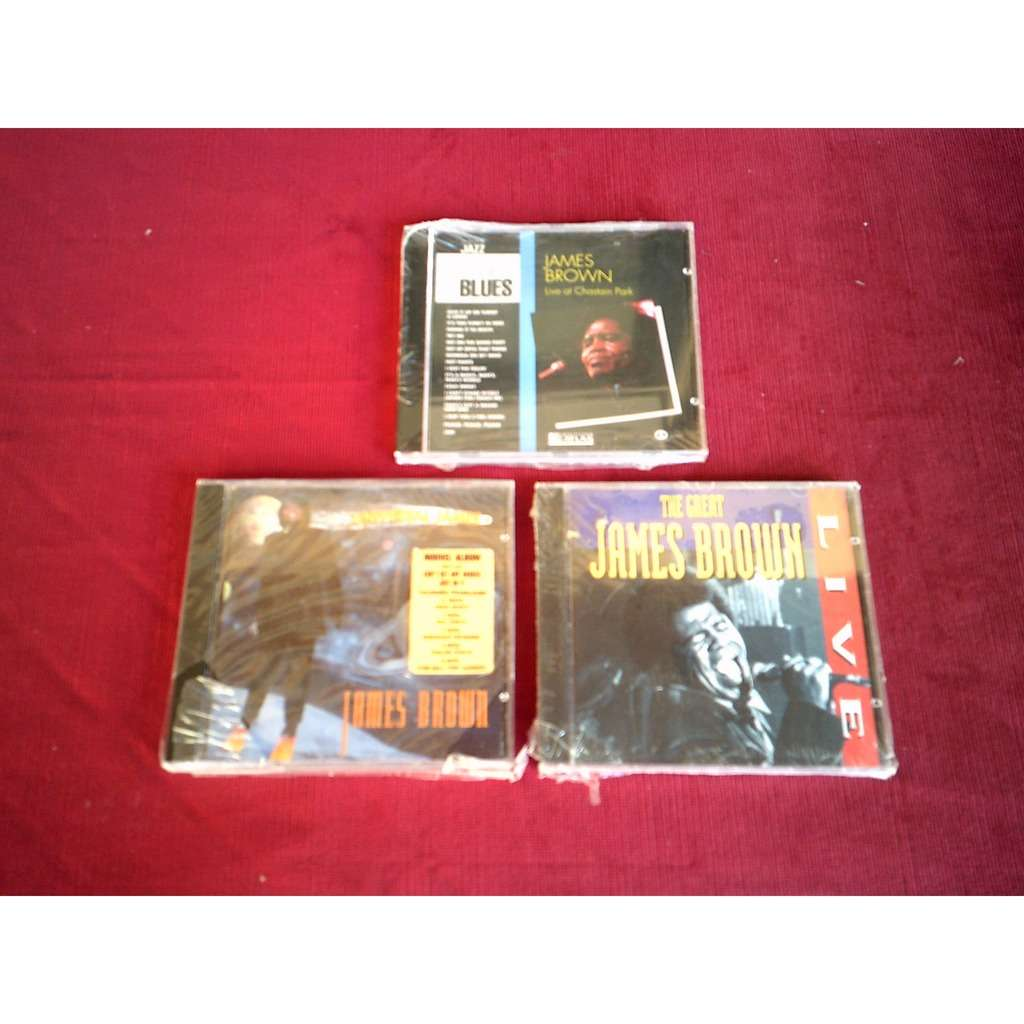 james brown COLLECTION DE 3 CD ALBUM