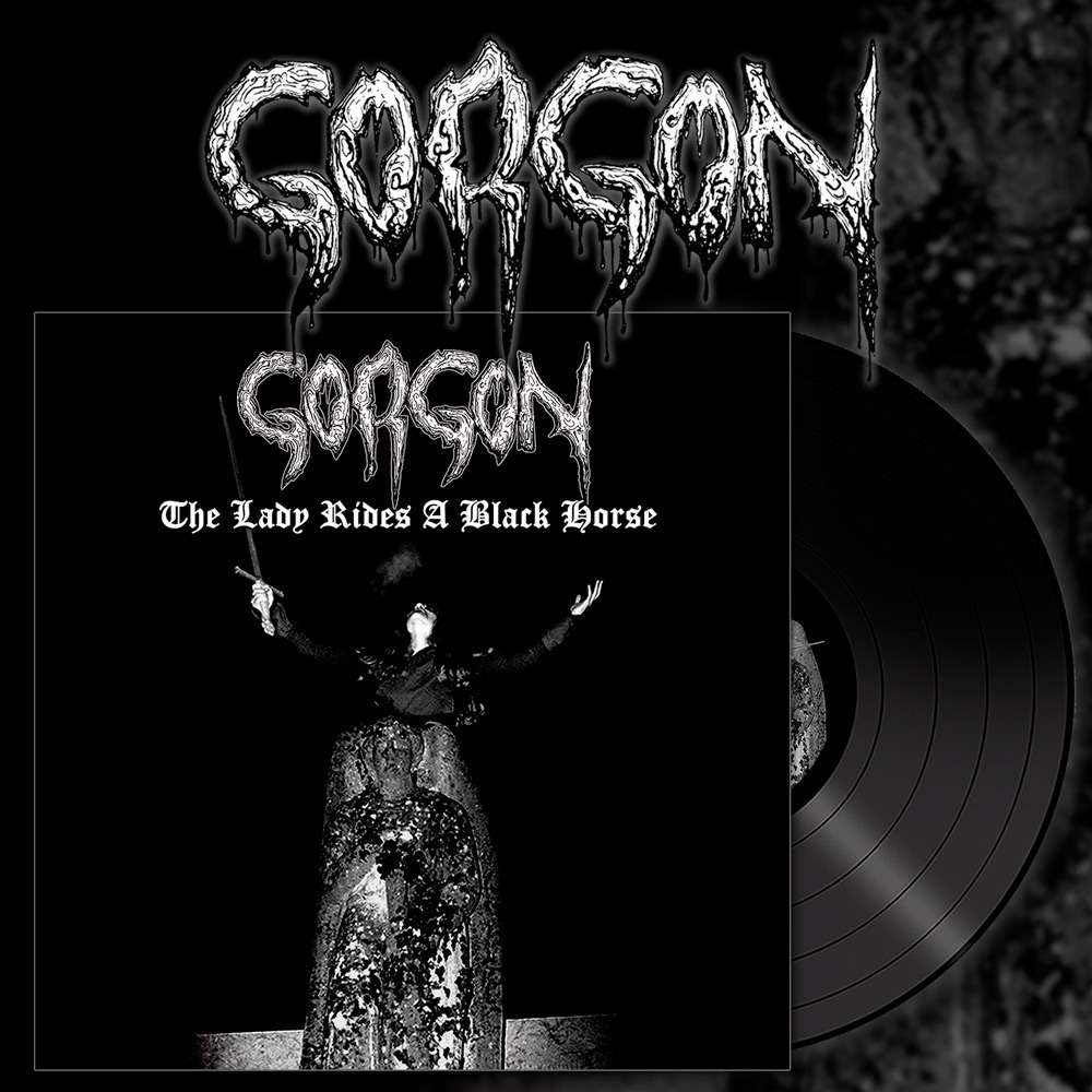 GORGON The Lady Rides A Black Horse. Black Vinyl