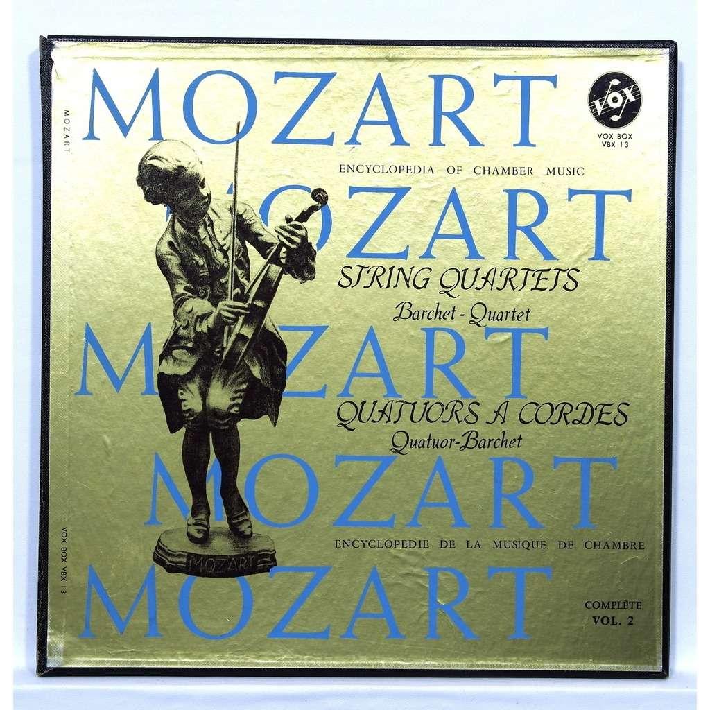 barchet quartet Mozart : String Quartets vol.2