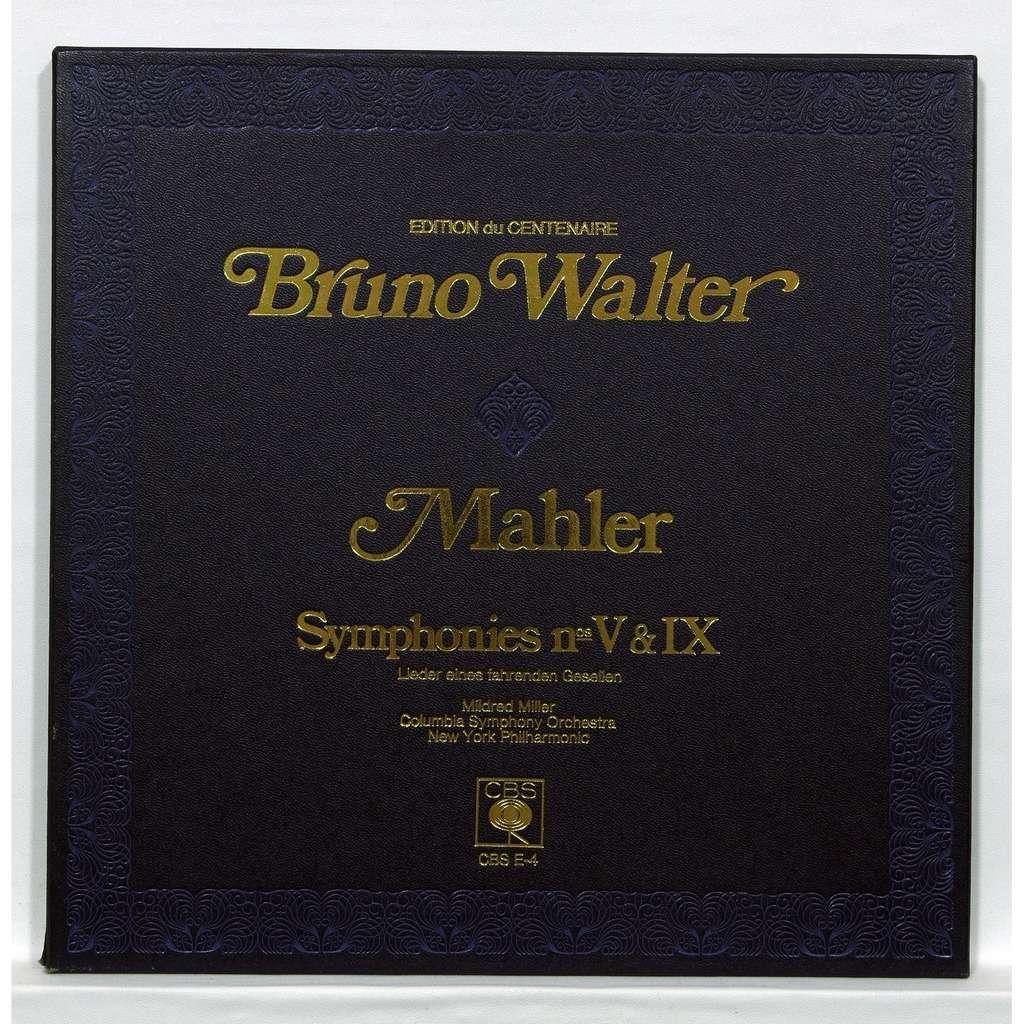 bruno walter Mahler : Symphonies no.5 & 9