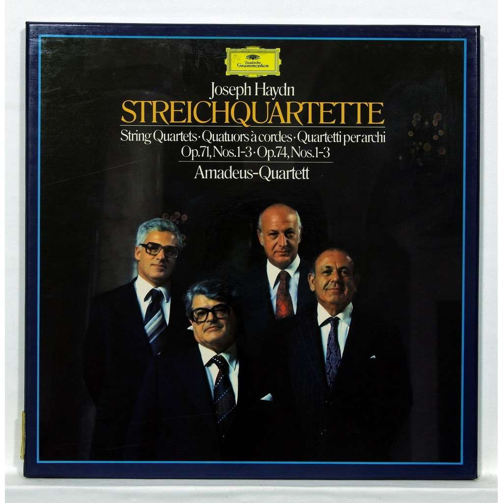 Amadeus quartett Joseph Haydn : String quartets op.71, nos.1-3 / op.74, nos.1-3