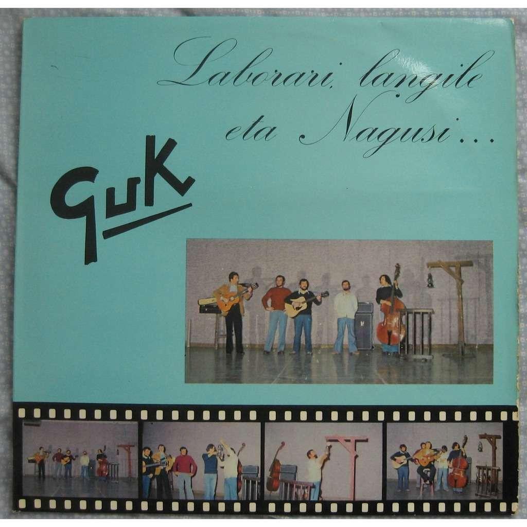 GUK laborari, langile eta nagusi...(Pays Basque)