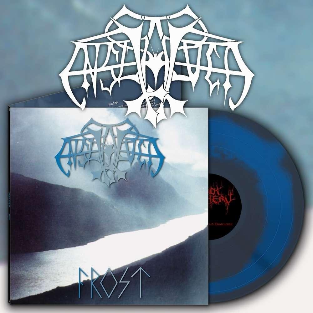 ENSLAVED Frost. Blue & Silver Swirl Vinyl