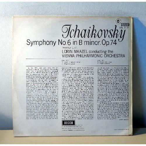 LORIN MAAZEL & VPO TSCHAIKOVSKY Symphony n°6
