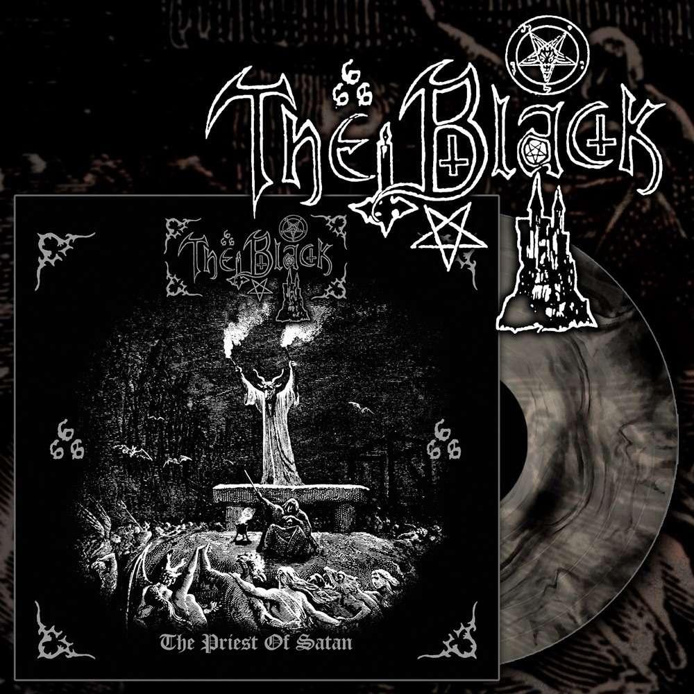 THE BLACK The Priest of Satan. Black Galaxy Vinyl