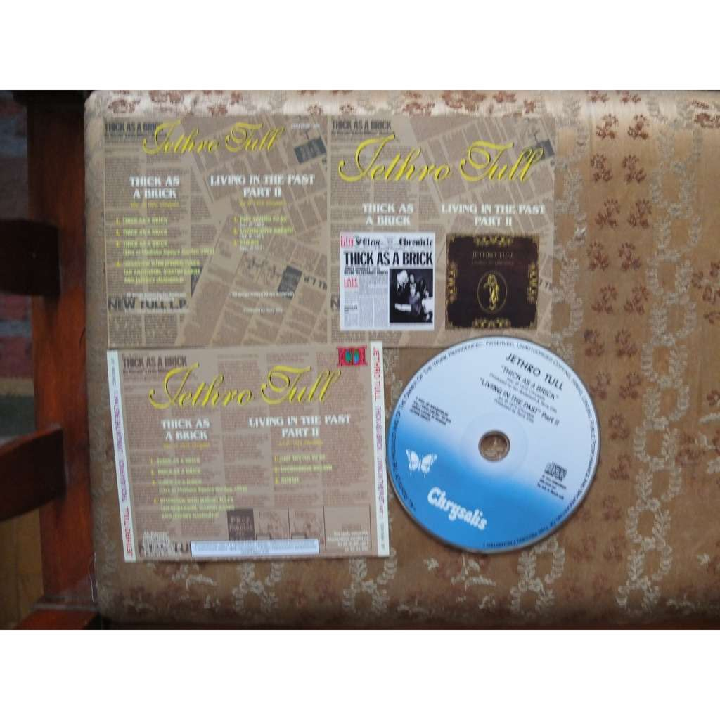 Jethro Tull Thick As A Brick/ Living In The Past Part II (2 in 1)