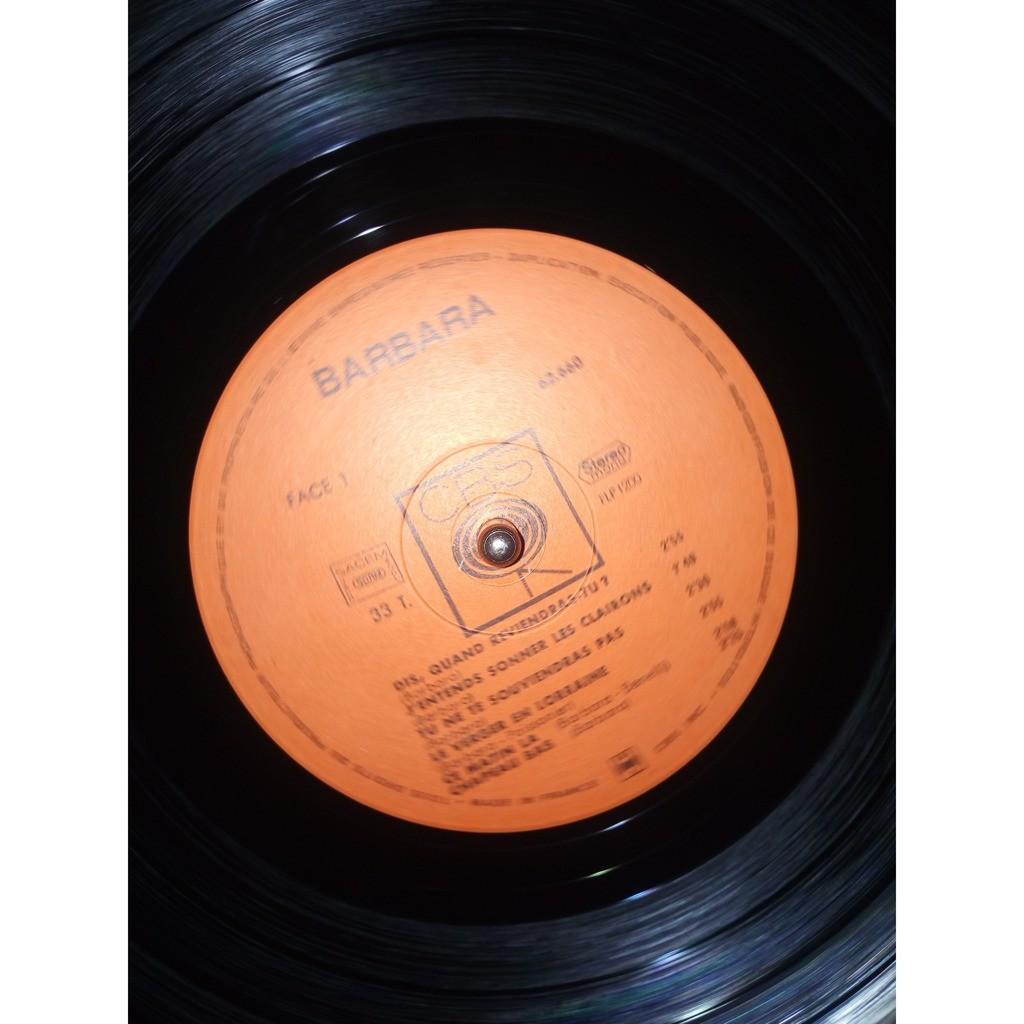 Barbara L'album d'or