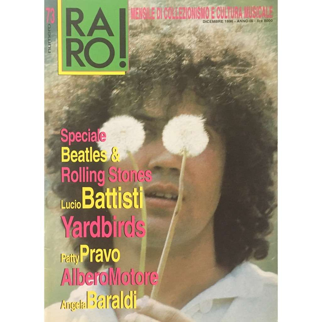 SPECIAL BEATLES & ROLLING STONES - RARO ! 73 (IT. MAGAZINE)