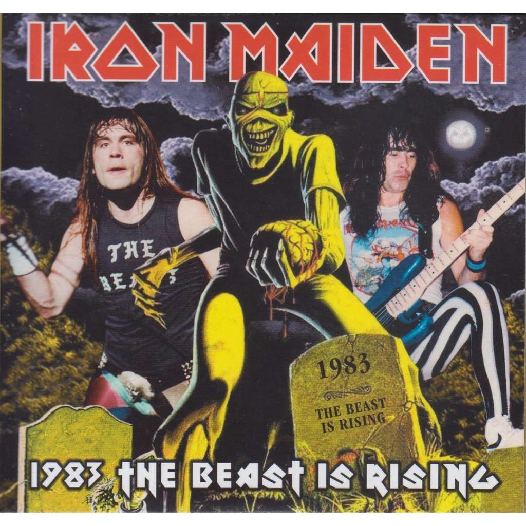 iron maiden 1983 THE BEAST IS RISING
