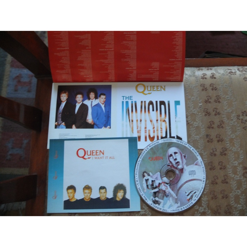 Queen News Of The World / The Miracle ( 2 in 1 )