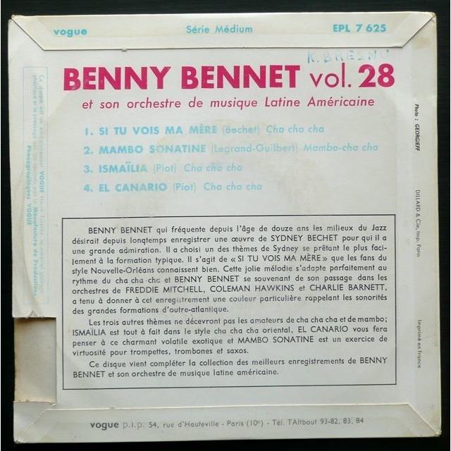 Benny Bennet Ismaïlia