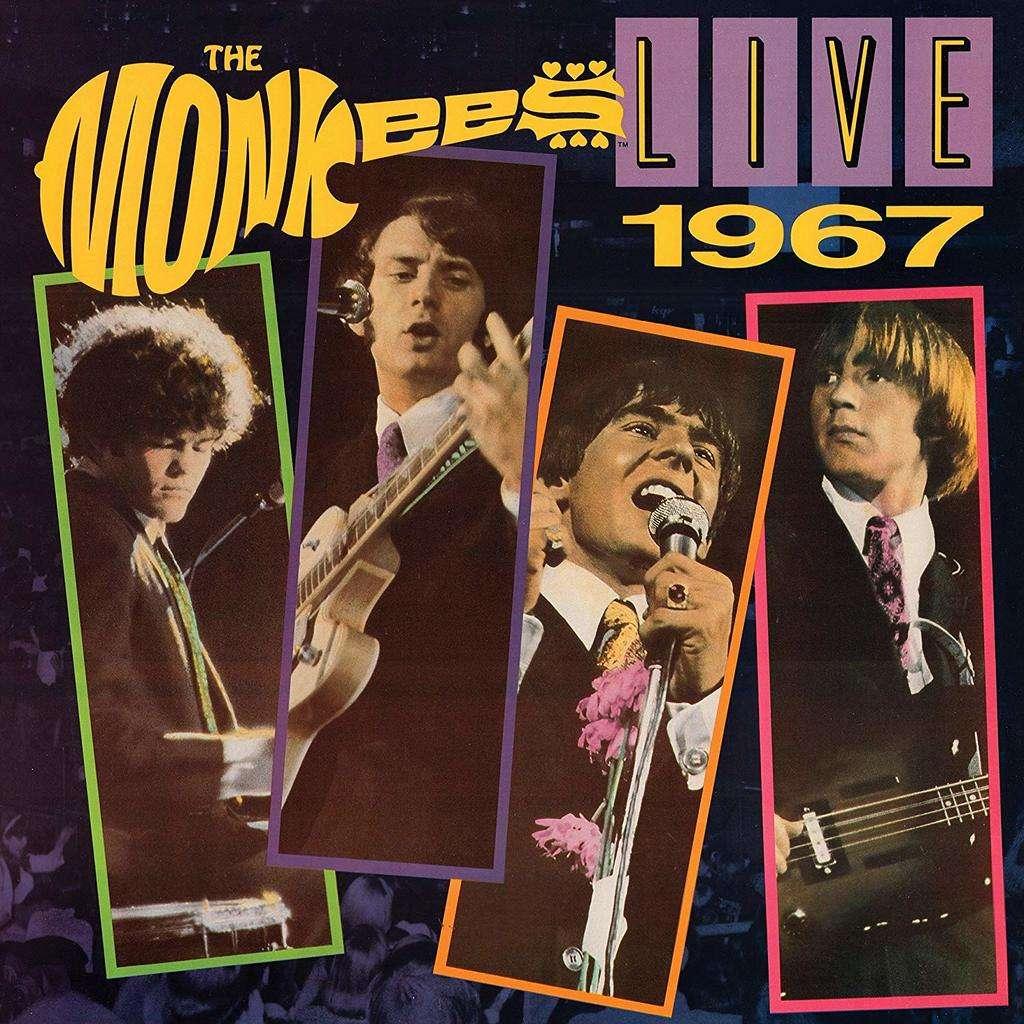 The Monkees Live 1967 (lp) Ltd Edit Coloured Vinyl -USA