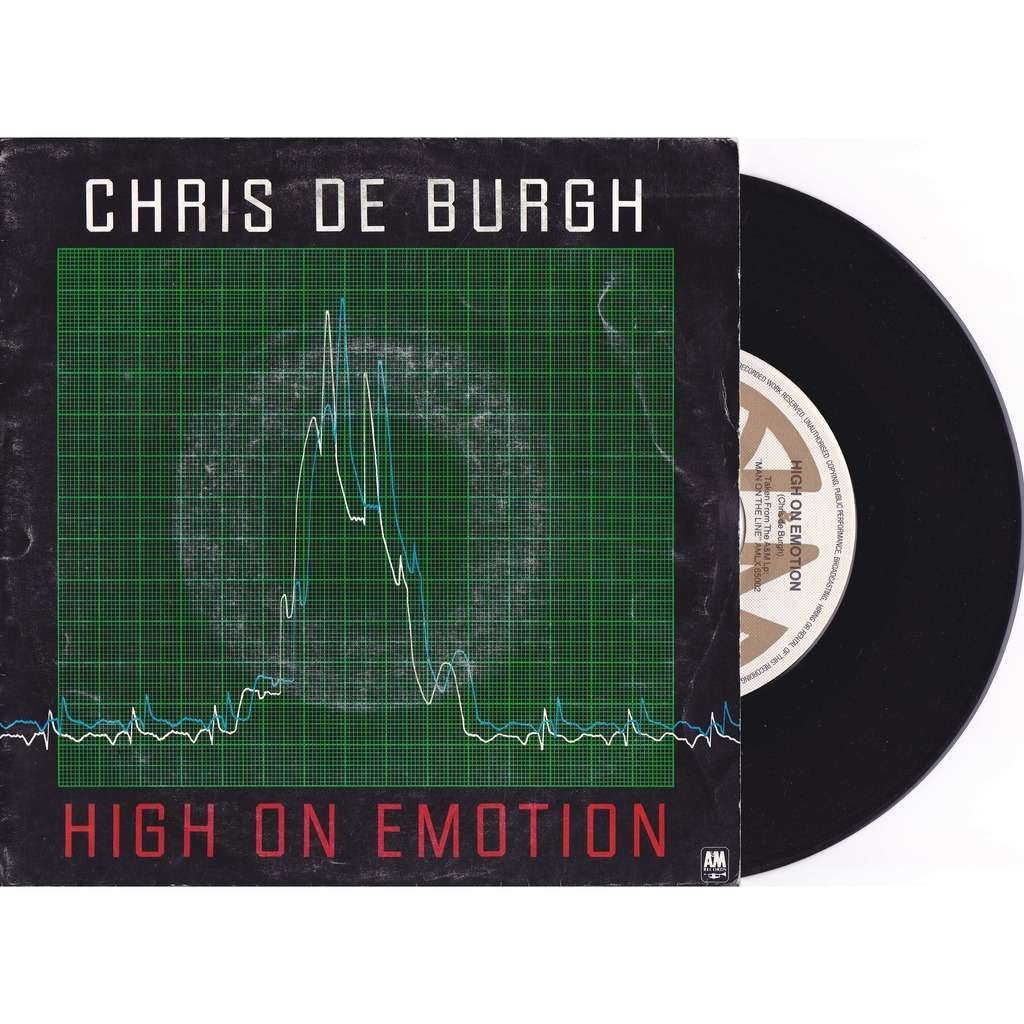 DE BURGH CHRIS HIGH ON EMOTION / much more than this
