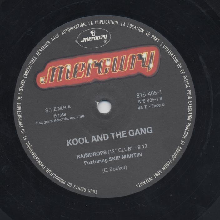 Kool & The Gang The 1990 Kool & The Gang Hitmix / Raindrops (12 Club)