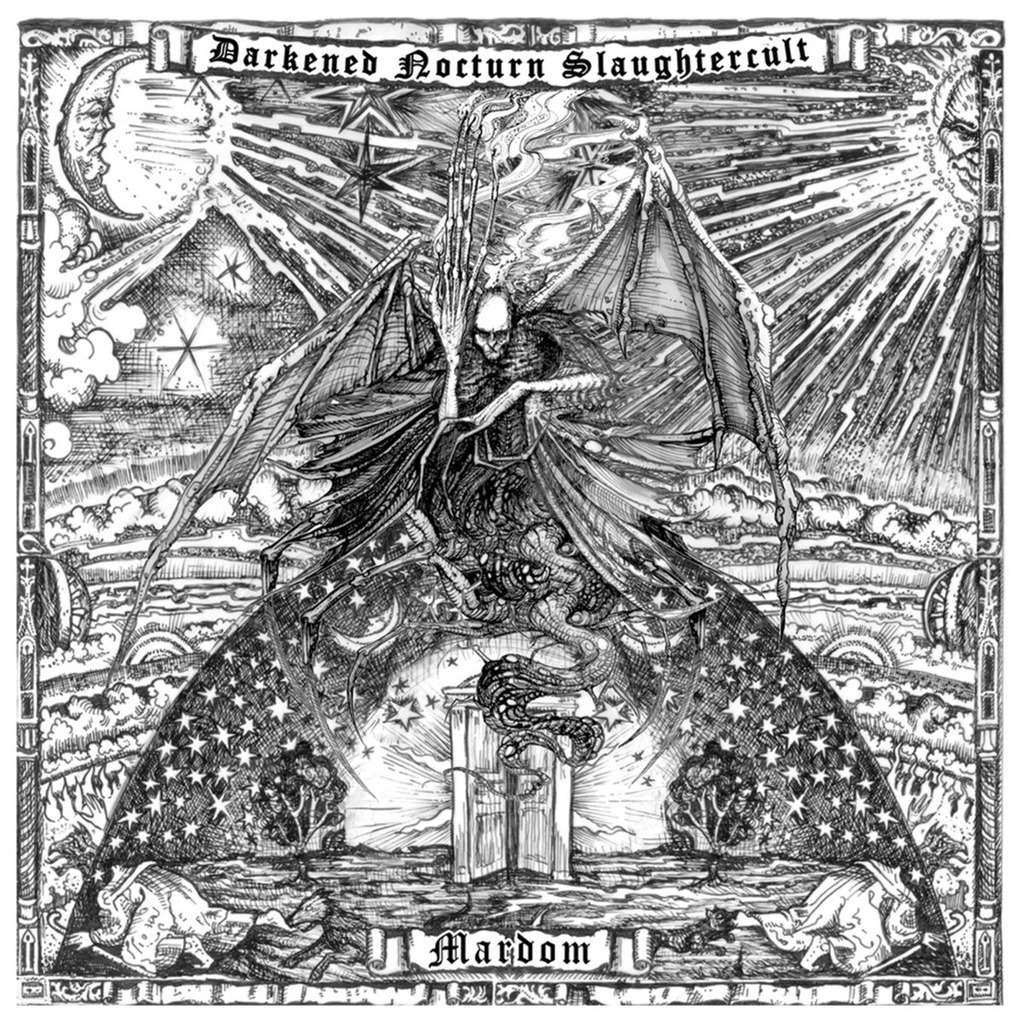 DARKENED NOCTURN SLAUGHTERCULT Mardom. Black Vinyl