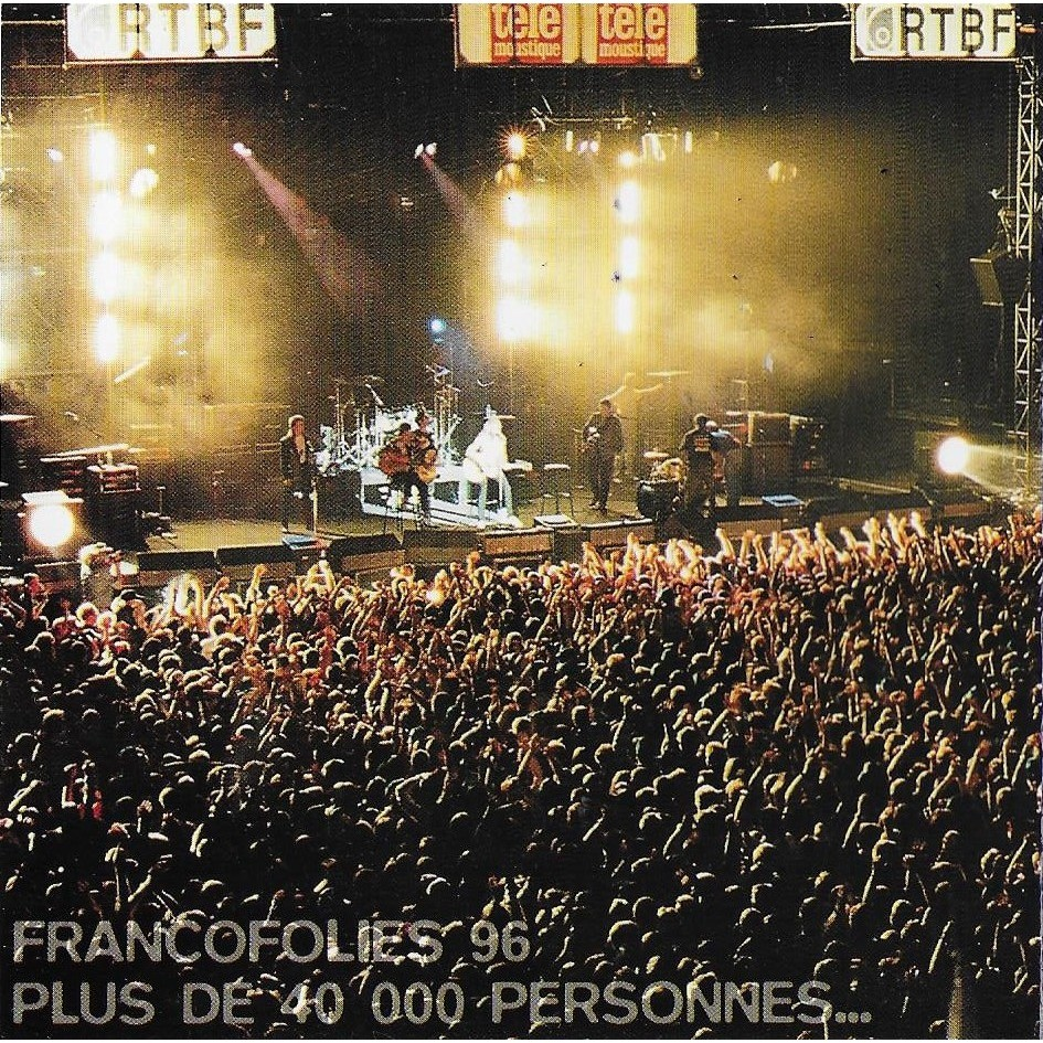 Johnny Hallyday, Rapsat, Bashung, Renaud, Calogero Francofolies De Spa - Compil' 94 - 95 - 96