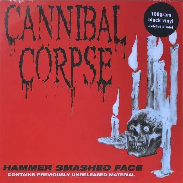 CANNIBAL CORPSE Hammer Smashed. Black Vinyl