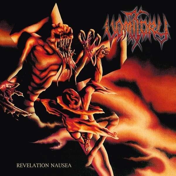 VOMITORY Revelation Nausea. Black Vinyl