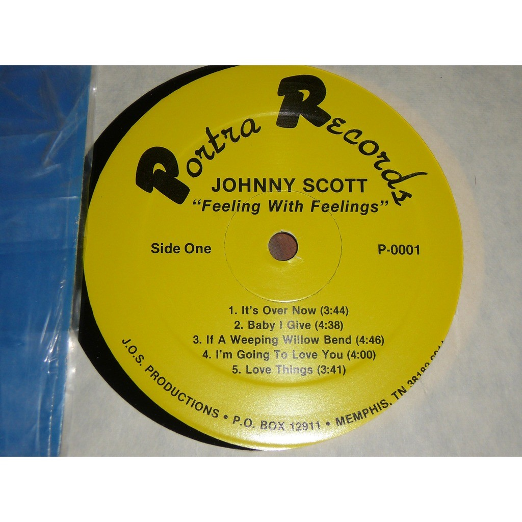 JOHNNY SCOTT feeling with feelings