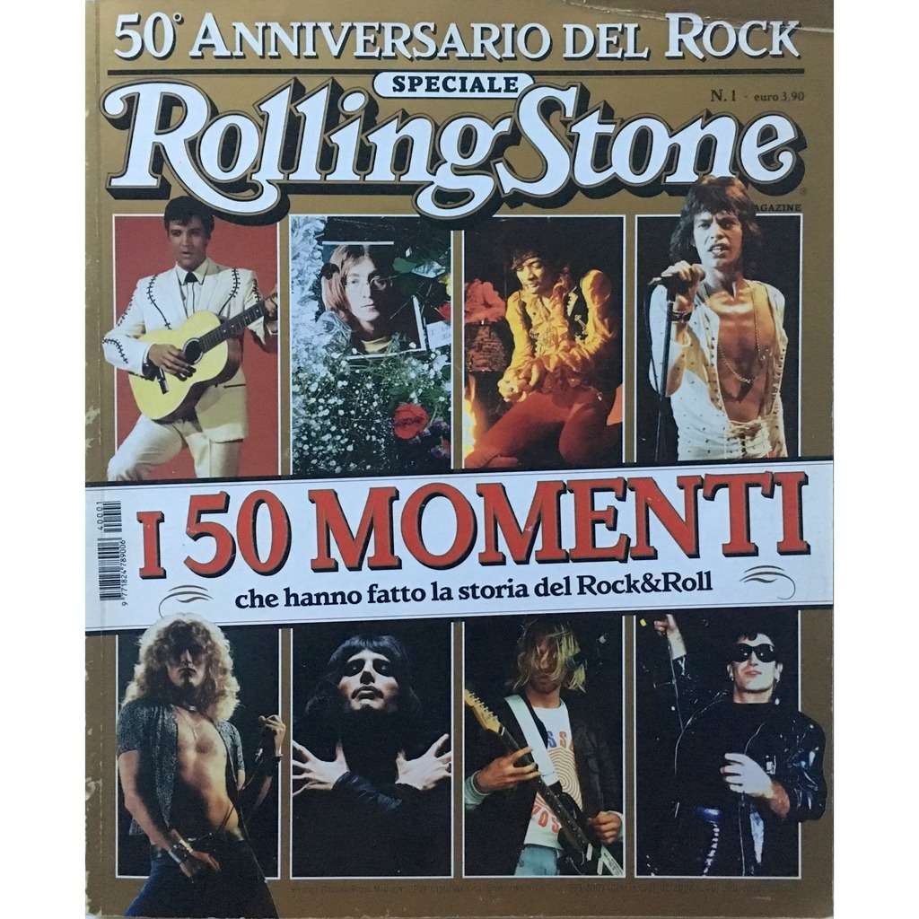 ROLLING STONE - 50° ANNIVERSARIO DEL ROCK (IT. MAGAZINE 146 PAGES)