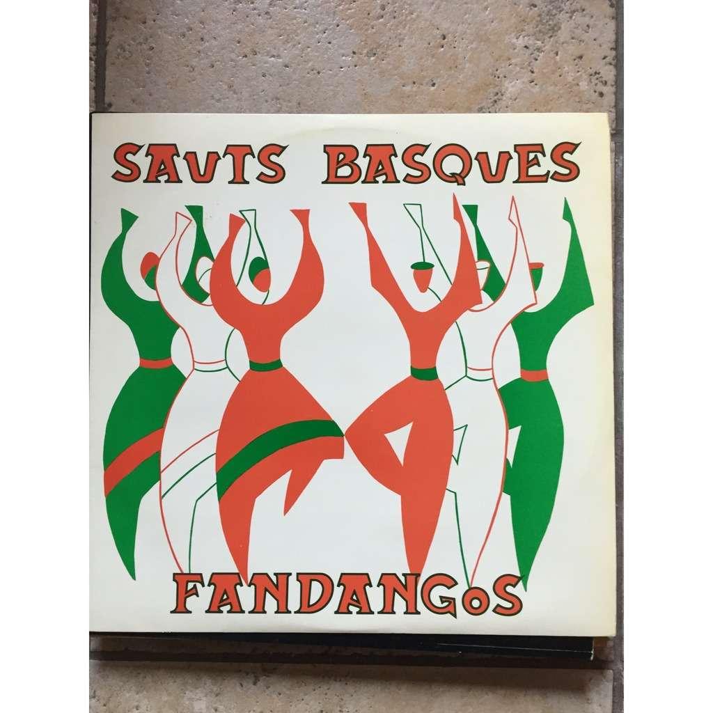 Orchestre P Salagoity Sauts Basques Et Fandangos