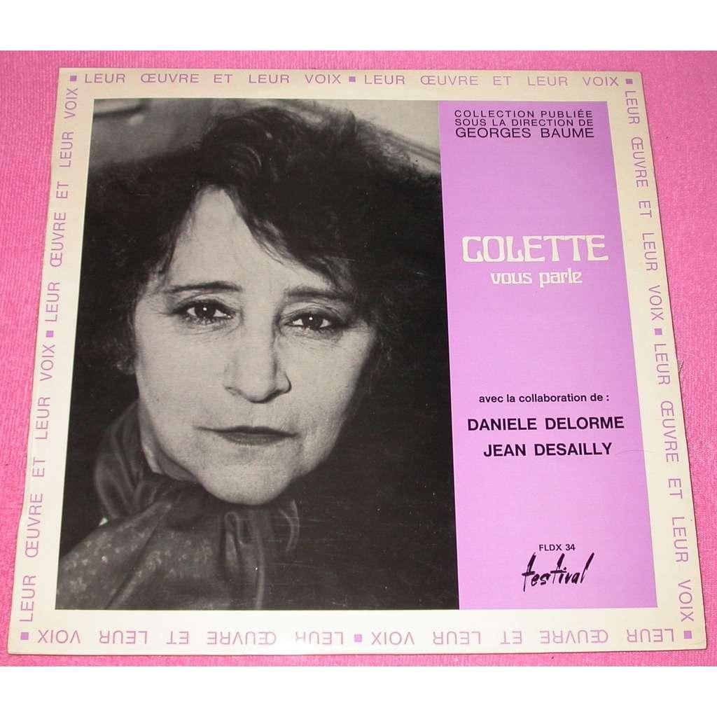Colette Colette vous parle