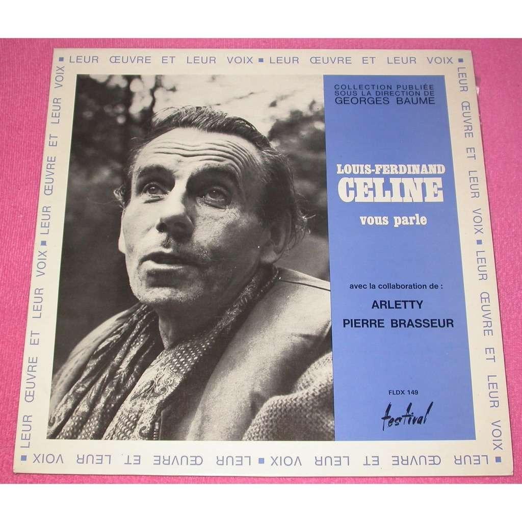 louis ferdinand céline / Brasseur / Arletty Louis ferdinand Celine vous parle