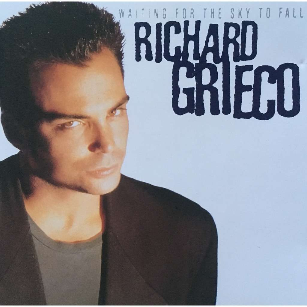 RICHARD GRIECO - WAITING FOR THE SKY TO FALL (GER. PRESSING 1 CD)