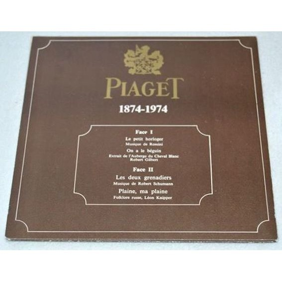 Piaget - Horlogerie 1874-1974 Rossini Syncro 805 Piaget - Horlogerie 1874-1974 Rossini Syncro 805