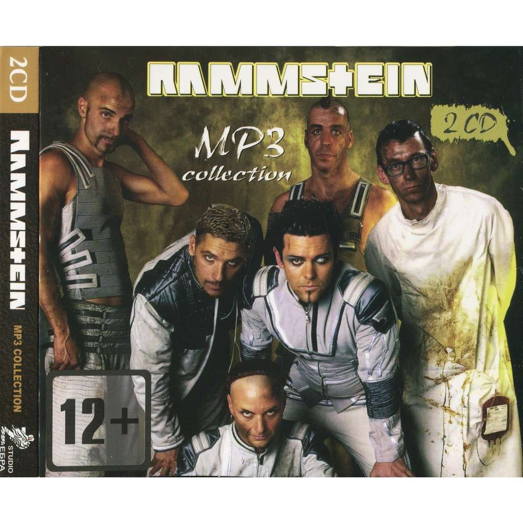 RAMMSTEIN MP3 Collection Anthology 33 albums Digipak (2CD Factory-Sealed)