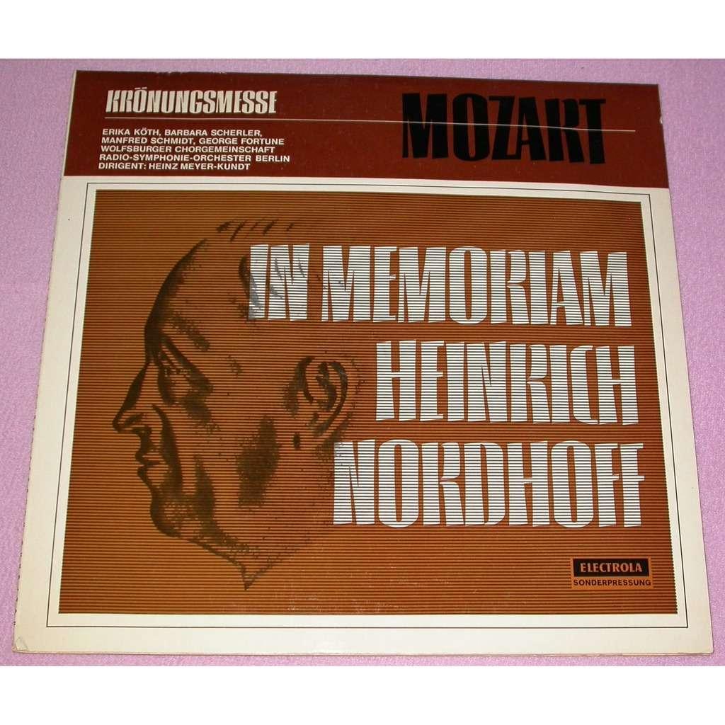 Wolfsburger Chorgemeinschaft Von 1869, Radio-Symph Wolfsburger Chorgemeinschaft Von 1869, Radio-Symphonie-Orchester Berlin, Erika Köth - Mozart - Kro