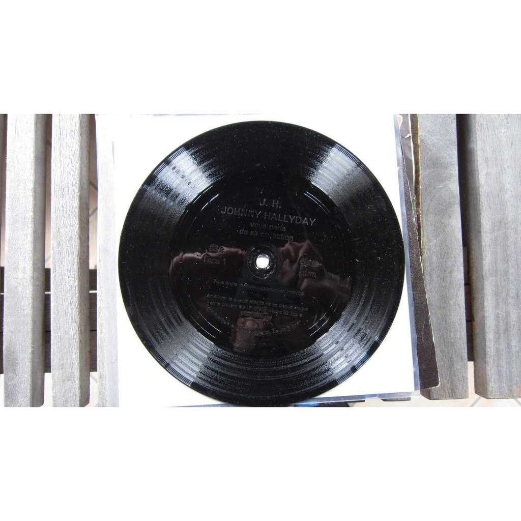Johnny Hallyday Johnny Hallyday vous parle de sa collection (disque plublicitaire souple pour ses 22 ans de carriere