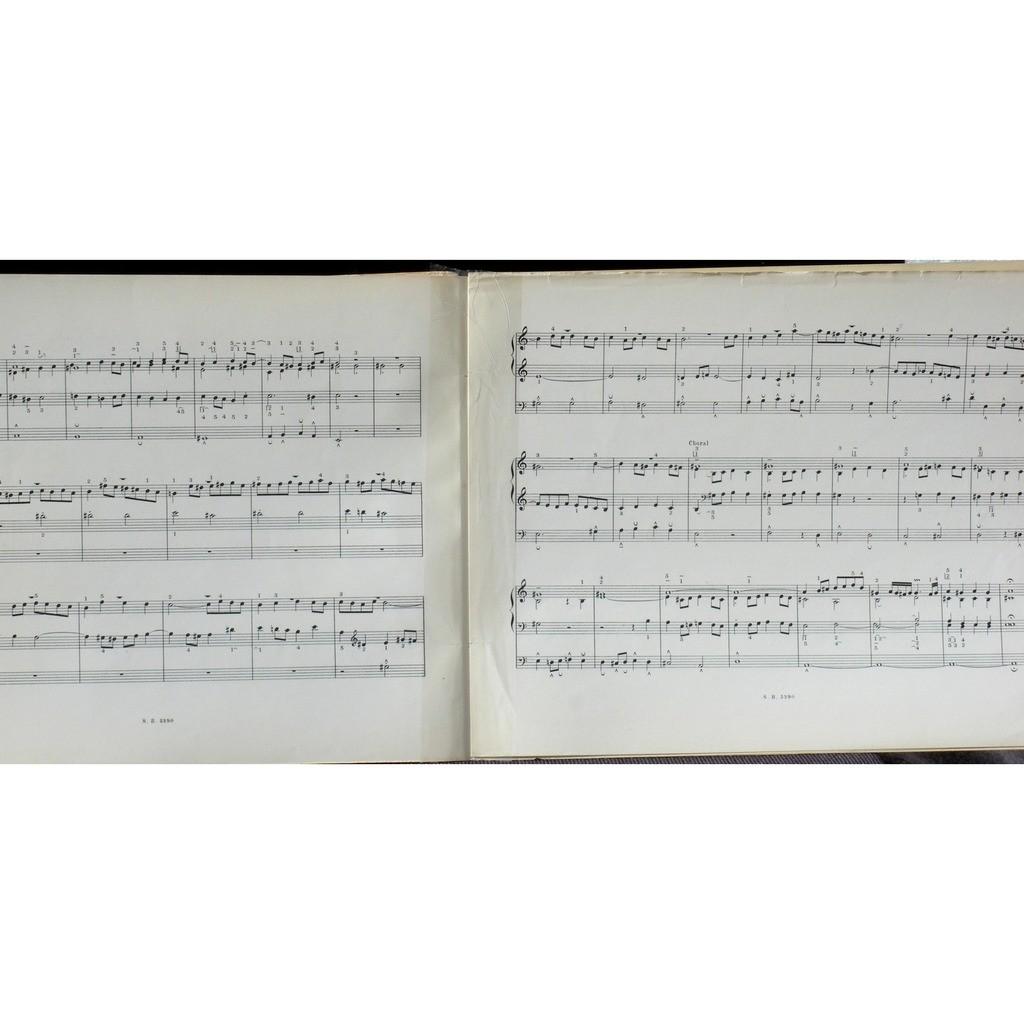 Partition / Score Bach Marcel Dupré Bornemann XI Partition / Score Bach Marcel Dupré Bornemann vol 11 XI 32 chorals divers VG++