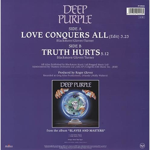 Deep Purple Love Conquers All