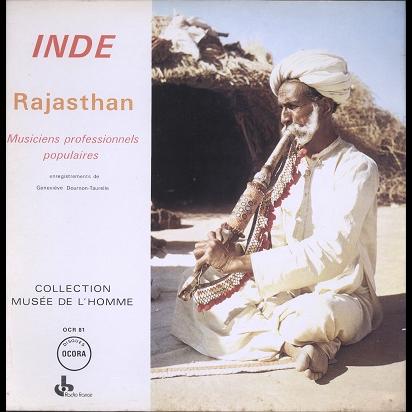 Inde, Rajasthan Musiciens Professionnels Populaires