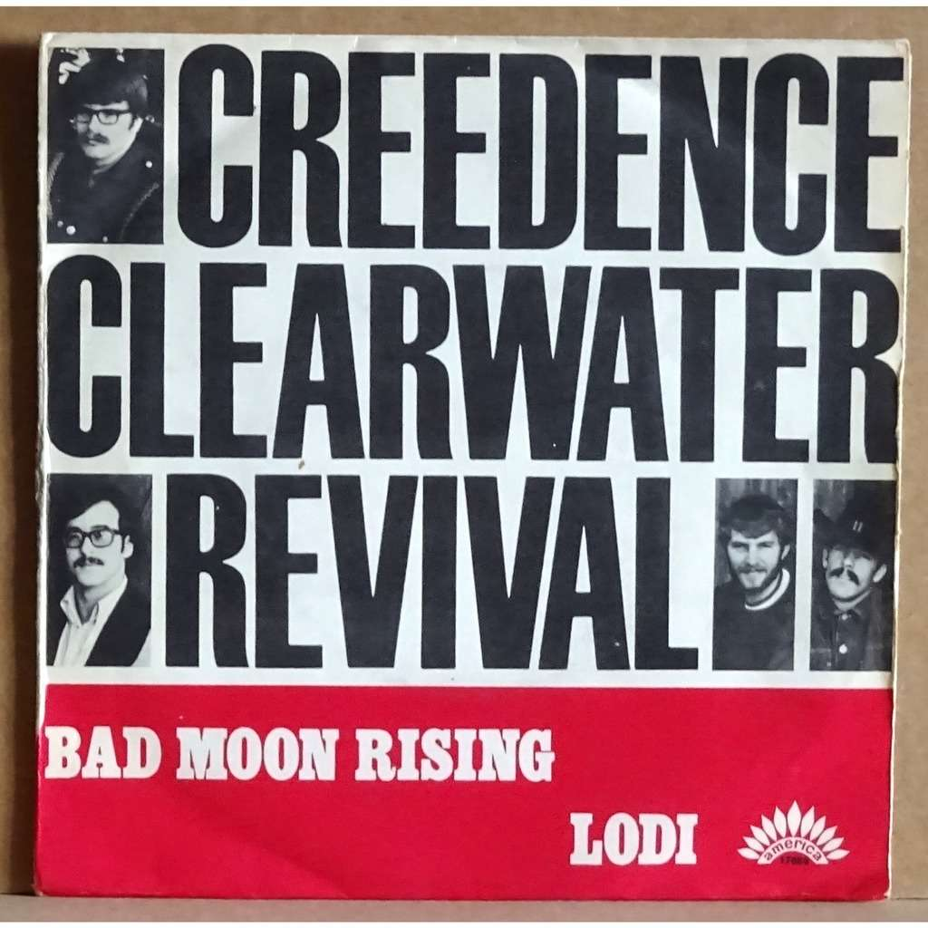 Bad moon rising   lodi von Creedence Clearwater Revival, SP bei ...