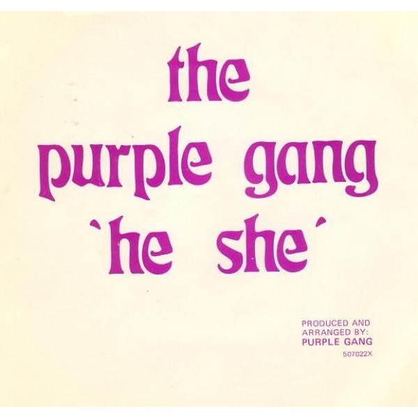 purple gang he she