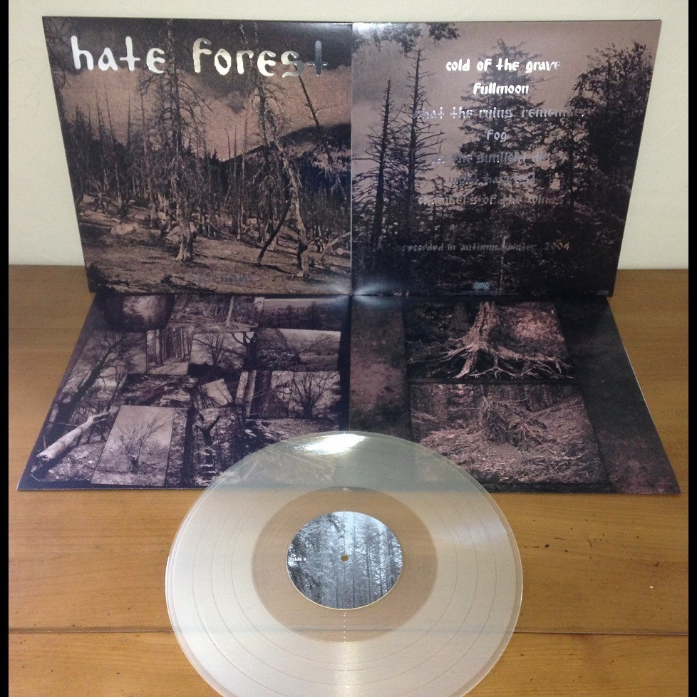 HATE FOREST Sorrow. Clear Vinyl