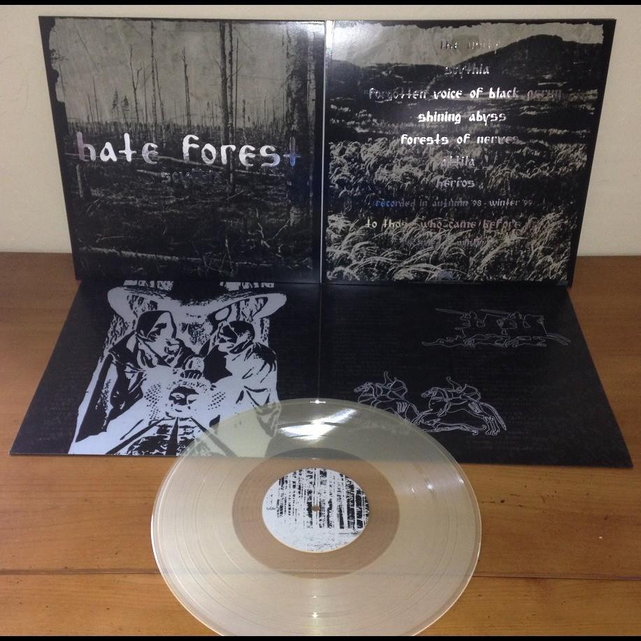 HATE FOREST Scythia. Clear Vinyl