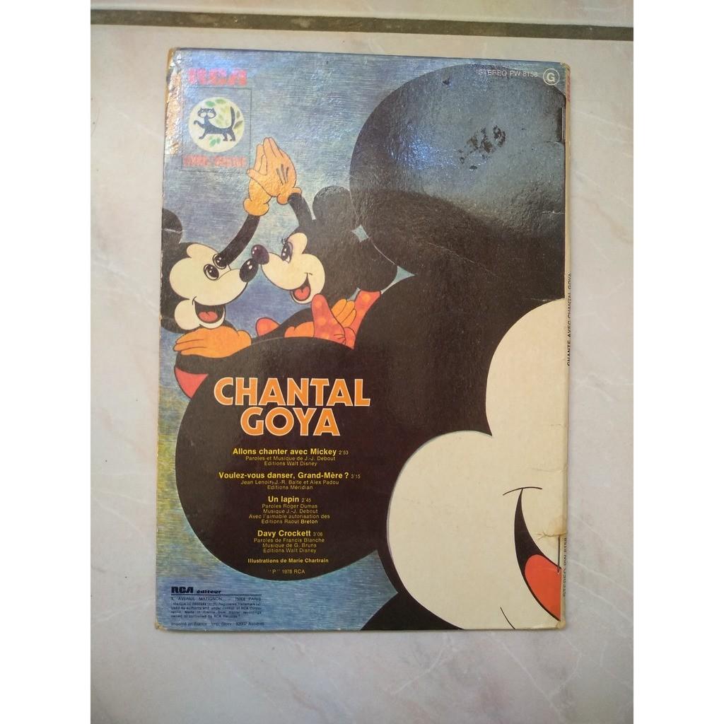 chantal goya allons chanter avec Mickey
