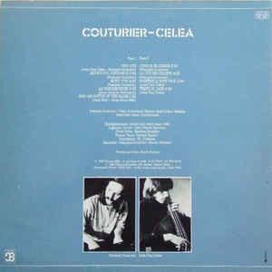François Couturier / Jean-Paul Celea Couturier-Celea