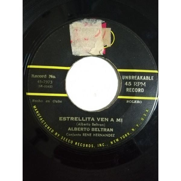 Alberto Beltran con el Conjunto Rene Hernandez Papa boco(guaracha)/Estrellita ven a mi(bolero)
