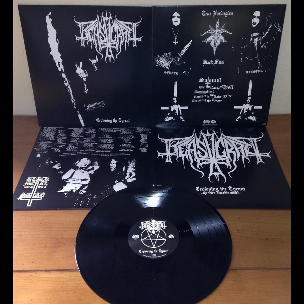 BEASTCRAFT Crowning The Tyrant. Black Vinyl