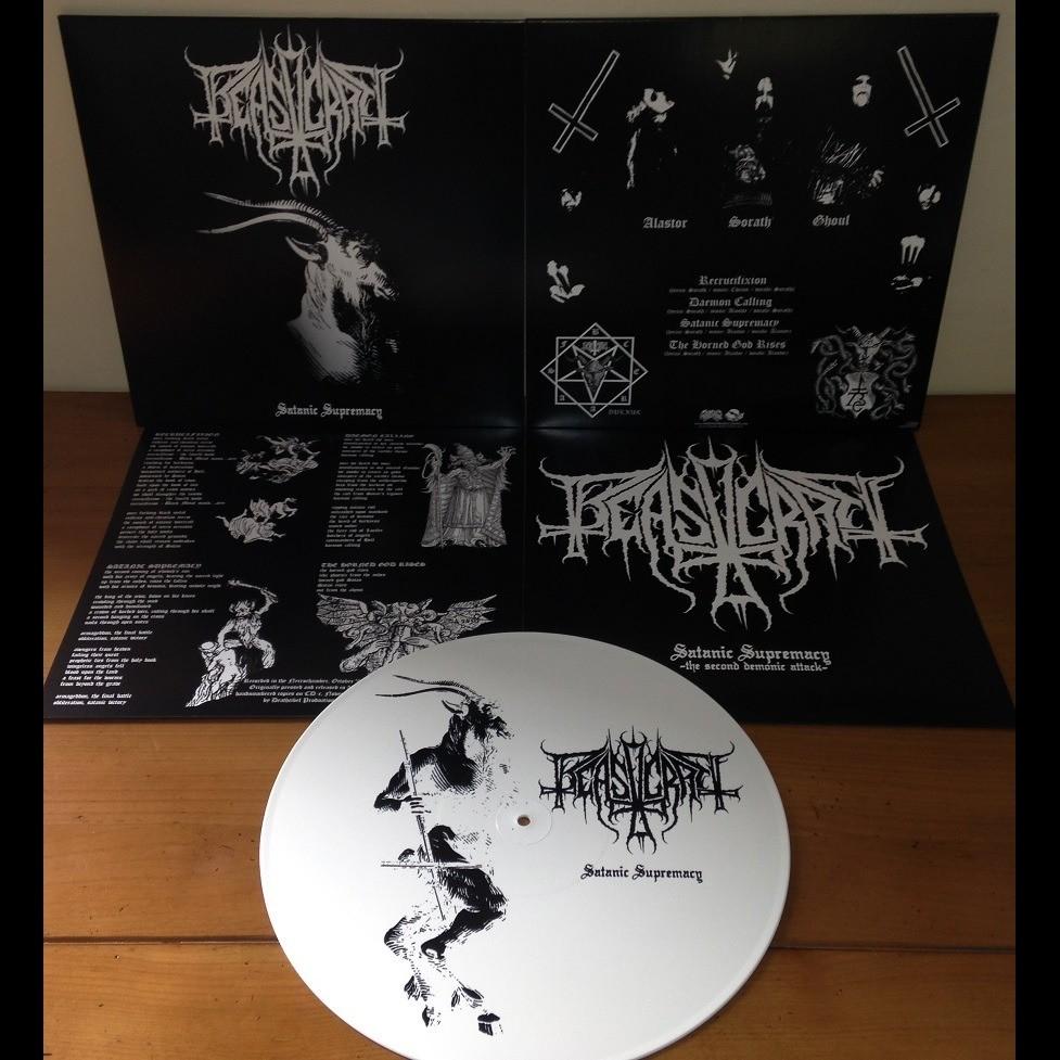 BEASTCRAFT Satanic Supremacy. White Vinyl